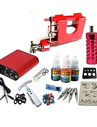 Basekey Tattoo Kit JH553  Machine With Power Supply Grips 10ML Ink