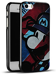 Ultra Thin Cartoon Soft Protective Back Cover iPhone Case for iPhone SE/iPhone 5S/5