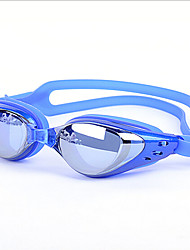 Unisex Waterproof/Anti-Fog Swimming Goggles for Swimming and Diving (Assorted Colors)