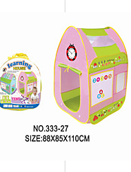 Children Play Toy Puzzle Entertainment Early Baby Tent Shooting Game House with the Letters