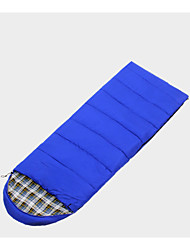 Спальный мешок Прямоугольный Односпальный комплект (Ш 150 x Д 200 см) -15  ---  -5 Пористый хлопок 400g 190cmX75cmПоходы / Путешествия /