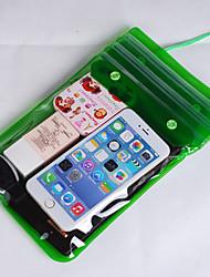 pvc caixas secas impermeável material adequado para celular iphone para mergulho / natação / pesca 28,5 * 17,5 centímetros
