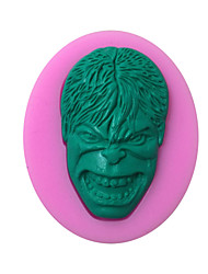 Hulk Style Sugar Candy Fondant Cake Molds  For The Kitchen Baking Molds