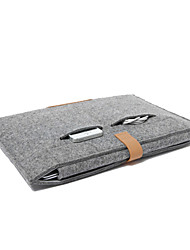 "Sleeve for Macbook 13"" Macbook Air 11""/13"" Macbook Pro 13""/15"" MacBook Pro 13""/15"" with Retina display Solid Color Textile Material Wool Felt"
