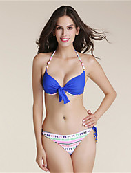 Bikini Da donna Push up Push-up All'americana Nylon / Poliestere