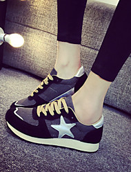 Women's Running Shoes Cotton / Fabric Black / Blue