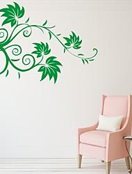 Romance / De moda / Florales Pegatinas de pared Calcomanías de Aviones para Pared,PVC S:39*54cm / M:53*73cm/ L:70*97cm