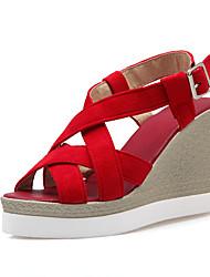 Women's Shoes Wedge Heel Wedges / Heels / Peep Toe / Platform / Slingback / Gladiator Sandals Dress / Casual