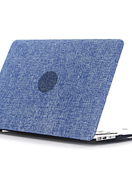 "concha plana pc estilo denim para MacBook Pro 13 ""/ Pro 15"" (color clasificado)"