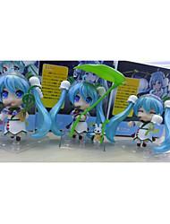 Vocaloid Hatsune Miku PVC One Size Anime Action Figures Model Toys 3pcs 8cm
