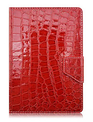 "Universal 7"" Plain Luxury Croco Texture PU Leather Case"