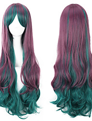 Popular! Top Quality Multi-Color Synthetic Long Curly Synthetic Wigs