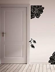 Romance / De moda / Florales Pegatinas de pared Calcomanías de Aviones para Pared,PVC S:21*55cm / M:42*107cm/ L:55*140cm