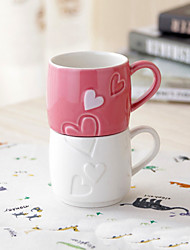 Creative Couple Coffee Cup Cameo Love Porcelain Cookware Sets