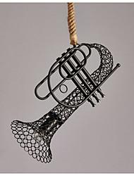 American Country Hemp lace T Retro Decorative Chandelier Chandelier