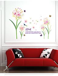 Botanique / Floral / Paysage Stickers muraux Stickers avion,pvc 90*60CM