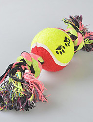 Dog Toy Pet Toys Chew Toy Interactive Candy Multicolor Textile
