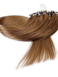 neitsi® 20inch micro anneau boucles extensions de cheveux humains sonne cheveu humain 30 #