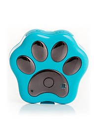 Cat / Dog GPS Collar Waterproof / Batteries Included / GPS Blue Plastic