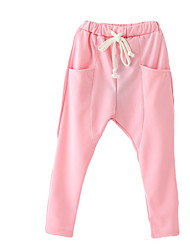 Girl's Pants,Cotton Spring / Fall Pink