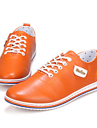 Men's Shoes Casual  Fashion Sneakers Black / White / Orange