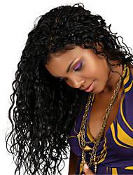 """""""26"""" peluca 8 brasileña virginal del pelo rizado rizado llena del cordón&encajes frente peluca multicolor opcional con el pelo del"""
