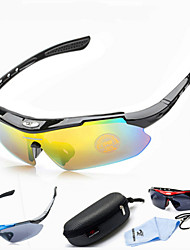 Outdoor Bike Cycling Glasses UV400 Sports Sun Glasses Eyewear Goggle 4 Colors