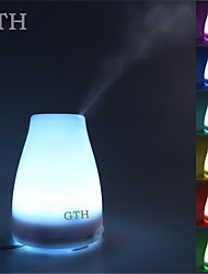 120ML LED Light 7 Color Change Dry Protect Ultrasonic Essential Oil Aroma Diffuser Air Humidifier Mist Maker Home&Office