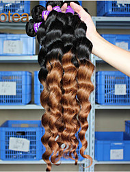 "3Pcs/Lot 12""-26"" malaysian virgin hair loose wave Human Hair Weaves"