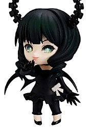 Blackrock Shooter Anime Action Figure 10CM Model Toys Doll Toy