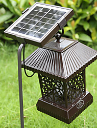 Solar Insect Zapper Mosquito Killer Bug Trap Electric Pest Fly Catcher Terminator UV