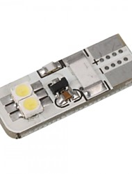2PCS 325i 525i Z4 2W Can-bus LED Width Lamp Car License Plate Lamp Car Reading Lamp White Color