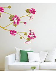 Botanique / Romance / Nature morte / Floral Stickers muraux Stickers avion,pvc 50*70cm