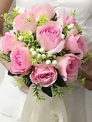 Bouquets(Rose / Pourpre / Champagne,Satin)Roses