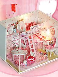 Creative Model Toy Bricks Micro Landscape Xingmeng Diy Craft Hut Series Lights Lamp LED