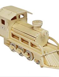 le bois de locomotive 3d puzzles jouets bricolage