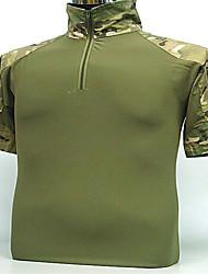 мужская рубашка охоты одежда для кемпинга&туризм / рыбалка / / затекания / дышащая / носимых