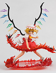 TouHou Project Flandre Scarlet PVC 25cm Anime Action Figures Model Toys Doll Toy 1 Pc