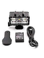 Accessoires pour GoPro Spot Light LED LED / Etanches, Pour-Caméra d'action,Xiaomi Camera / Gopro Hero 3 / Gopro Hero 3+ / Gopro Hero 5 /