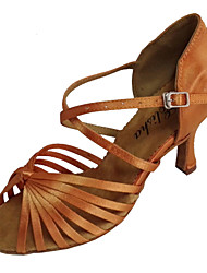 Latin Customizable Women's Sandals Satin Dance Shoes(More Colors)