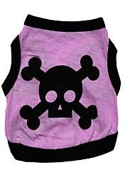 Dog Vest / Vest A variety of colors / Summer Floral / Skulls Fashion
