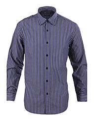 JamesEarl Herren Hemdkragen Lange Ärmel Shirt & Bluse Lila-MB1XC001318