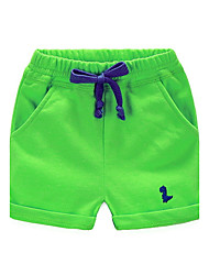 BK  6-12 Y Boys Casual Cartoon Rope Shorts Kids' Clothing