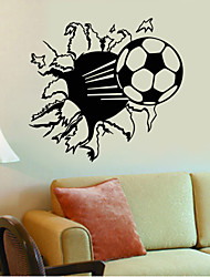 4047 Hot Sale Soccer Ball Football Vinyl Wall Decal Stickers for Kids Sport Boy Rooms Bedroom Art Wall Decor