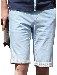2016 Korean slim men's casual pants shorts summer beach pants five pants pants pants men tide