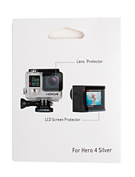Gopro Accessories Screen Protectors / Accessory Kit Touchscreen, For-Action Camera,Gopro Hero 3+ / Gopro Hero 4Auto / Skate /