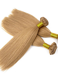 3Pcs/Lot 110g/Pcs 7A 100% Virgin Brazilian Human Hair weaves Bundles Hair Weft , Yaki, Natural Colorful Hair