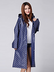 New Korean Environmental EVA Raincoat Outdoor Raincoat Poncho Adult Siamese Thickened