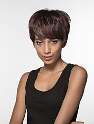 nova peruca curta macio ondulado elegante