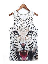 3d vest roofdieren luipaarden druk cosplay kostuums cosplay geeky kleding voor man / vrouw
